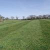 Chain harrowed field