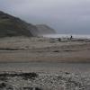 Charmouth Beach on Christmas Day 2011