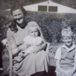Nan, Dave, Grant, Mark as boys