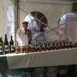 Our market stall at a local event