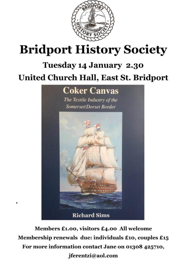 BRIDPORT HISTORY SOCIETY