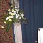 FLORAL DECORATIONS AT LOCAL CHURCHES