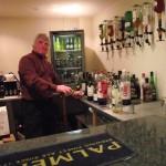 Village hall bar