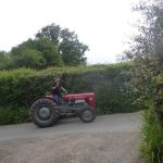 A TRACTOR TRUNDLE