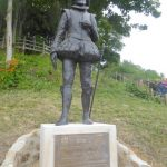 THE UNVEILING OF THE STATUE OF SIR GEORGE SOMERS