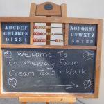CREAM TEA AND WALK AT CAUSEWAY FARM, BLACKDOWN