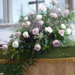THE FLOWER FESTIVAL AT WHITCHURCH CHURCH