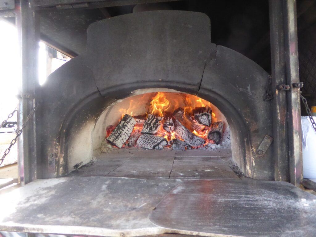 CHARIOT OF FIRE PIZZAS