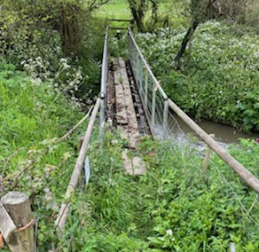 BRIDGE OVER THE RIVER CHAR